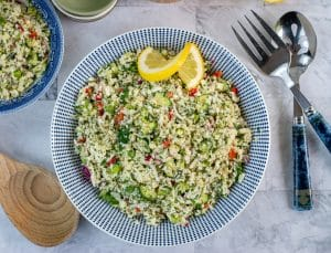 Low Carb Cauliflower Tabouli