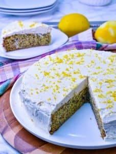 Keto Lemon Zucchini Olive Oil Cake