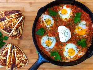 Low Carb Shakshuka (Eggs in Purgatory)