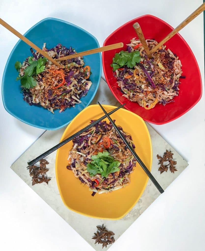 Thai Egg Roll Bowl