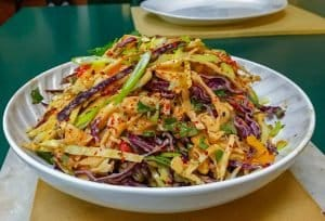 Keto Kimchi Coleslaw