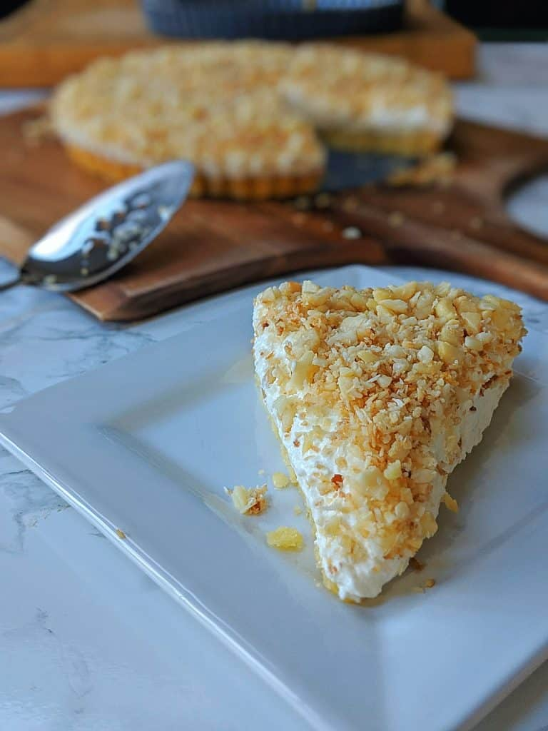 coconut macadamia cheesecake 2