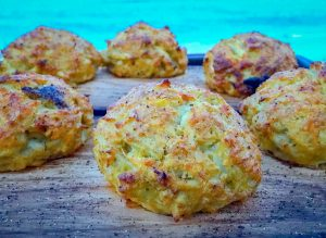 Low Carb Crab Cakes with Remoulade Sauce