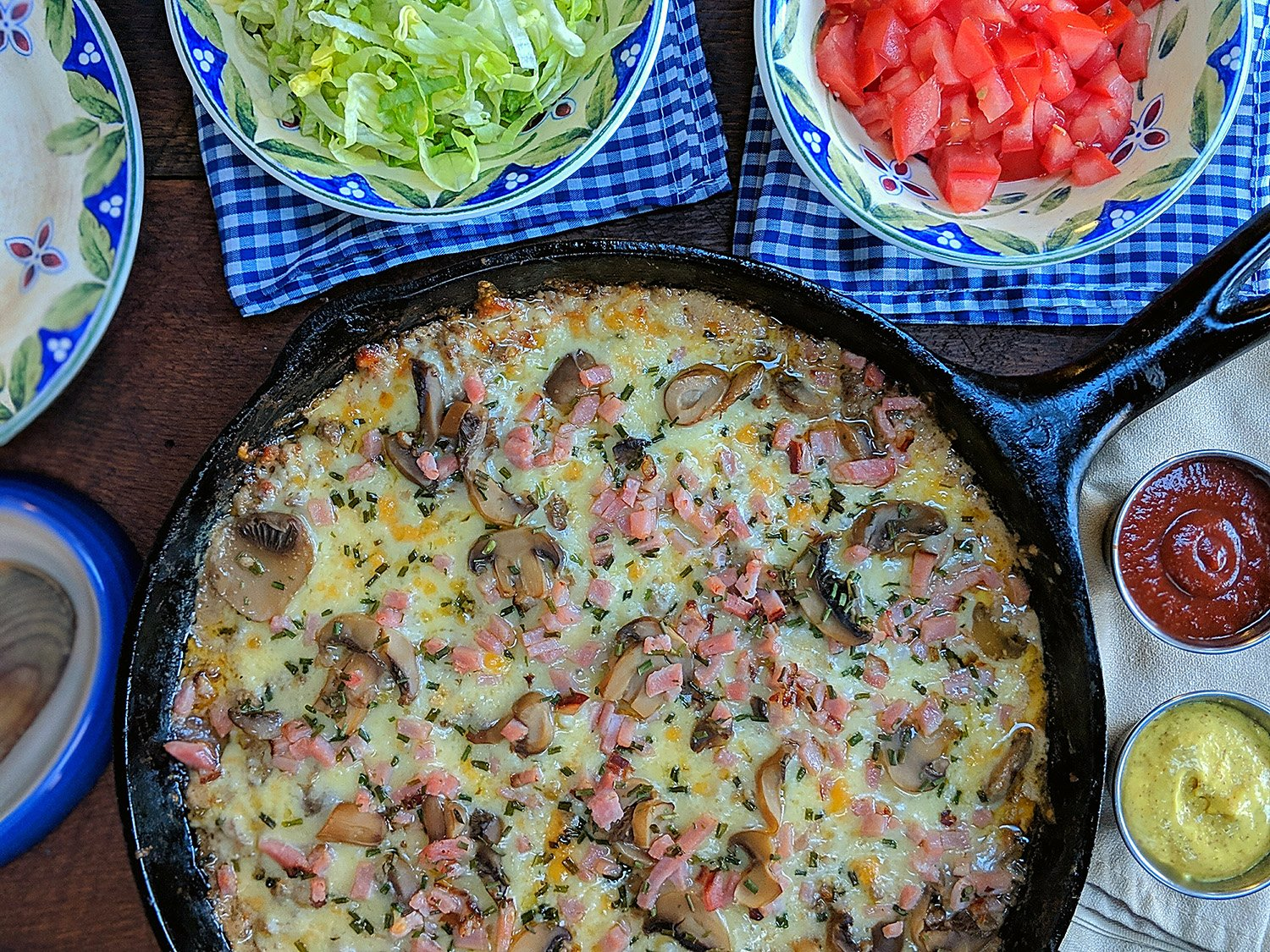 Low Carb Hamburger Skillet Casserole