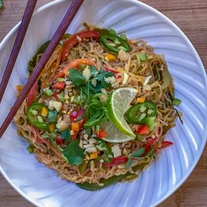 Keto Spicy Thai Noodles