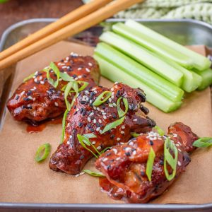 Keto Vietnamese Sticky Wings
