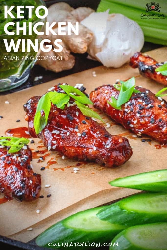 keto chicken wings asian zing flavor