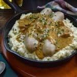 Keto Cauliflower Colcannon