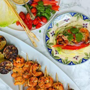 Keto Tandoori Shrimp