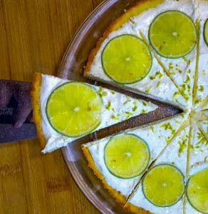 Keto Margarita Ice Box Pie