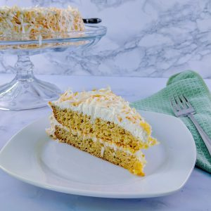 Keto Coconut Layer Cake