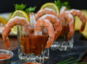 Shrimp Cocktail w/ Keto Cocktail Sauce