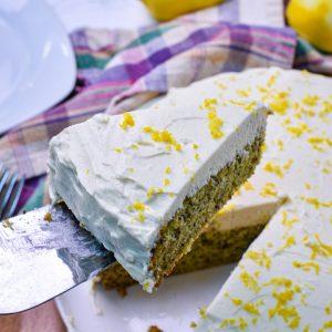 Lemon Zucchini Olive oil Cake