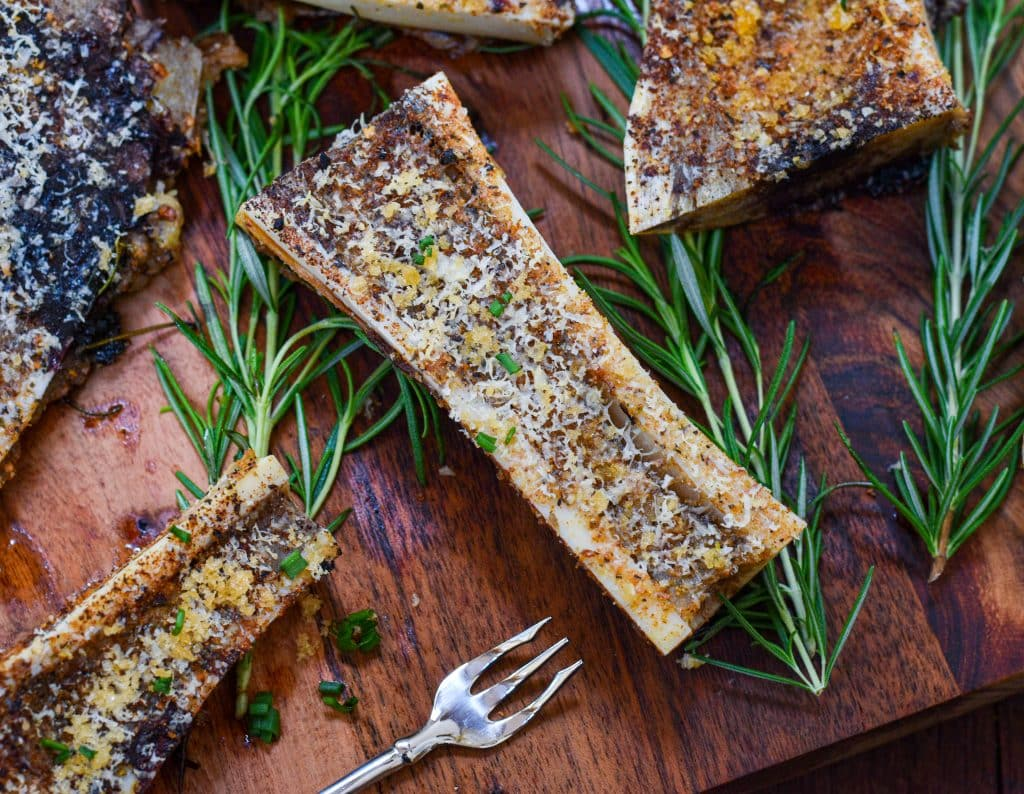 Keto recipes roasted bone marrow