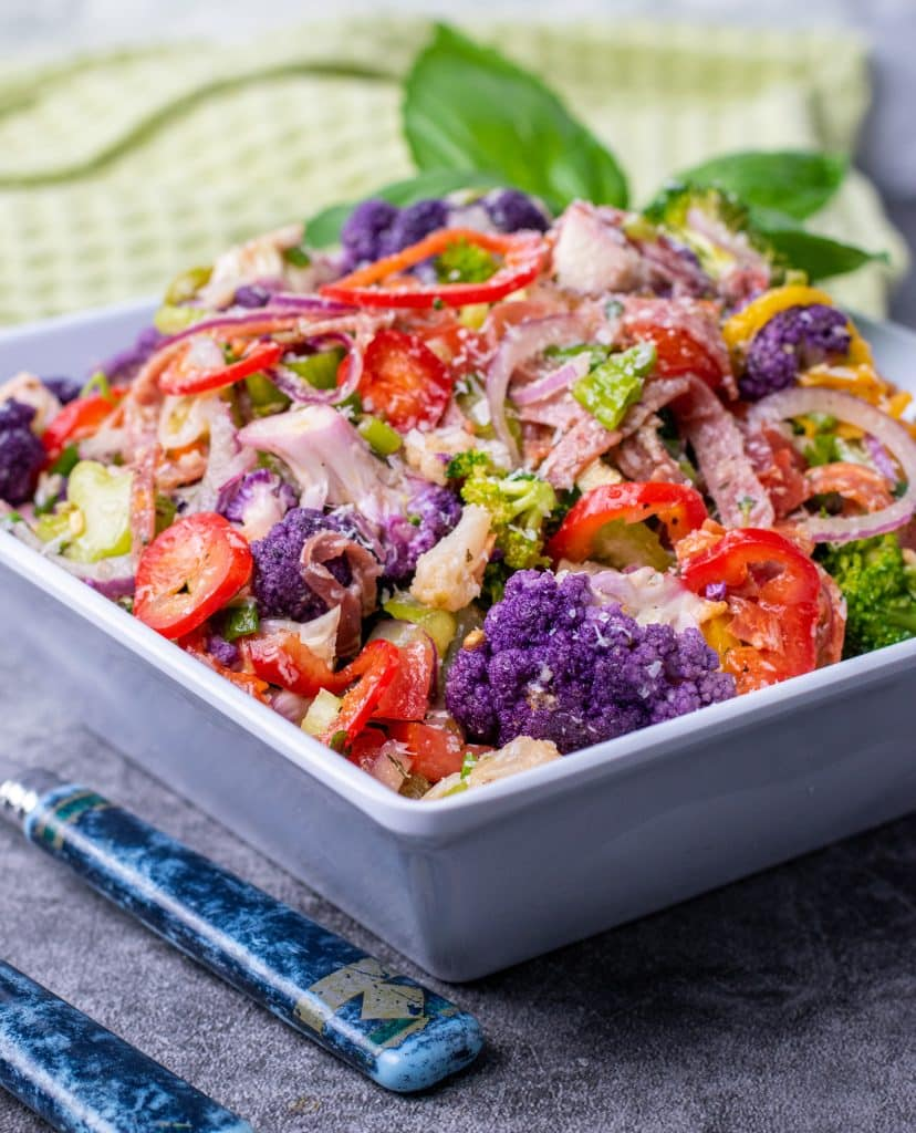 Purple Cauliflower Antipasti