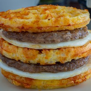 Miracle Rice Chaffle Recipe