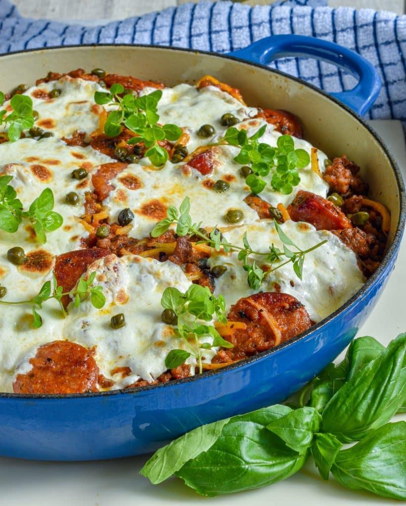 Keto Spaghetti Pie Recipe