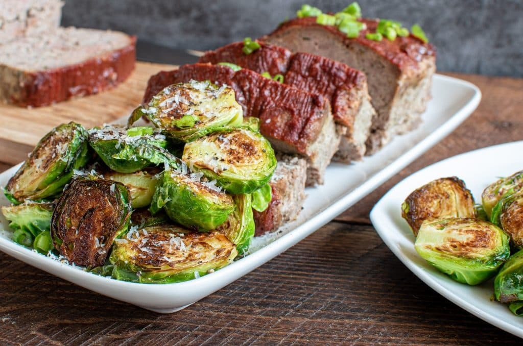 Butter Fried Brussel Sprouts