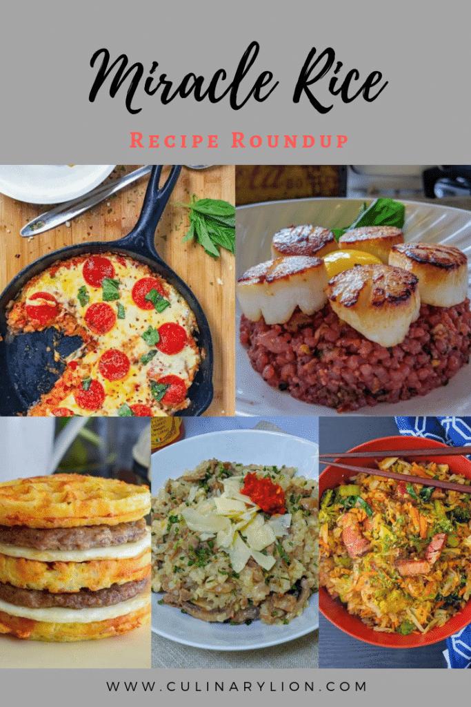 Miracle rice recipe roundup