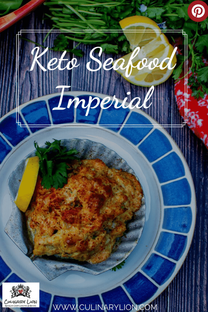 Keto seafood imperial