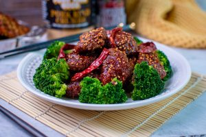 Low Carb General Tso Chicken
