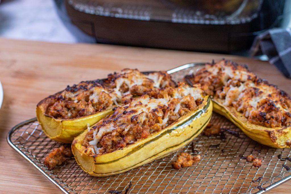 Delicata Squash Air Fryer oven recipe