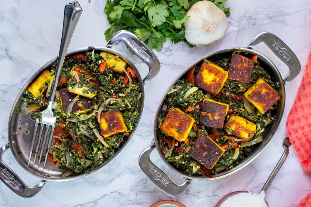 low carb saag paneer recipe