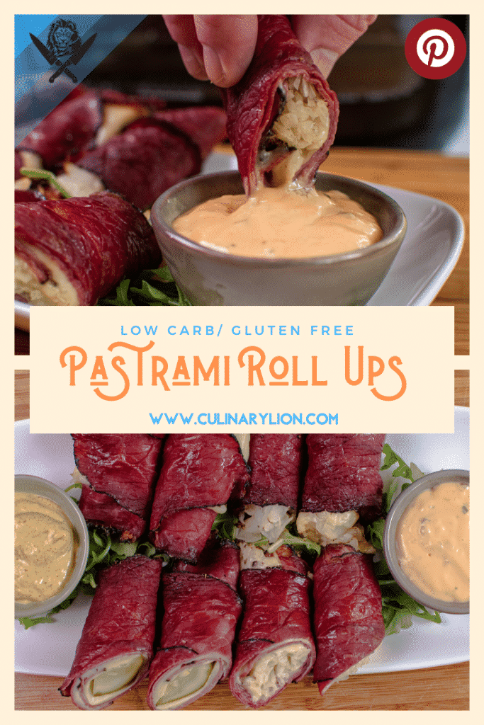 Pastrami roll ups pint rest thumbnail