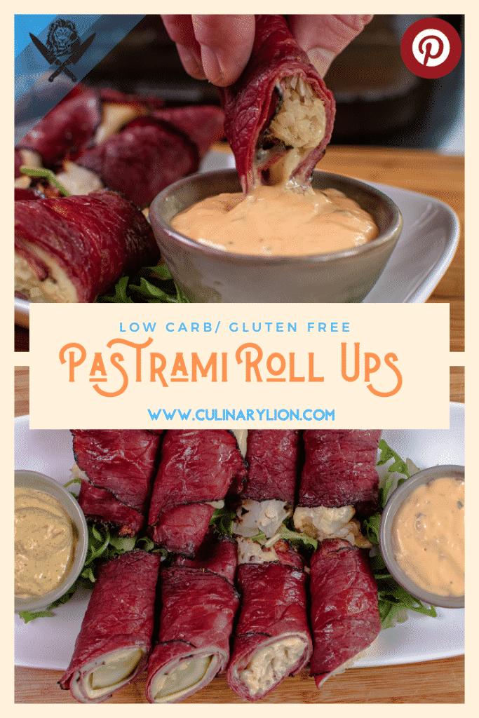 Pastrami roll ups pint rest thumbnail