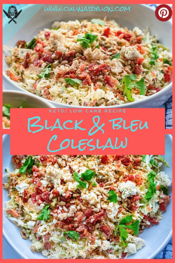 black & Bleu coleslaw Pinterest thumbnail