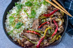 Pepper Steak: Low Carb Copycat Recipe