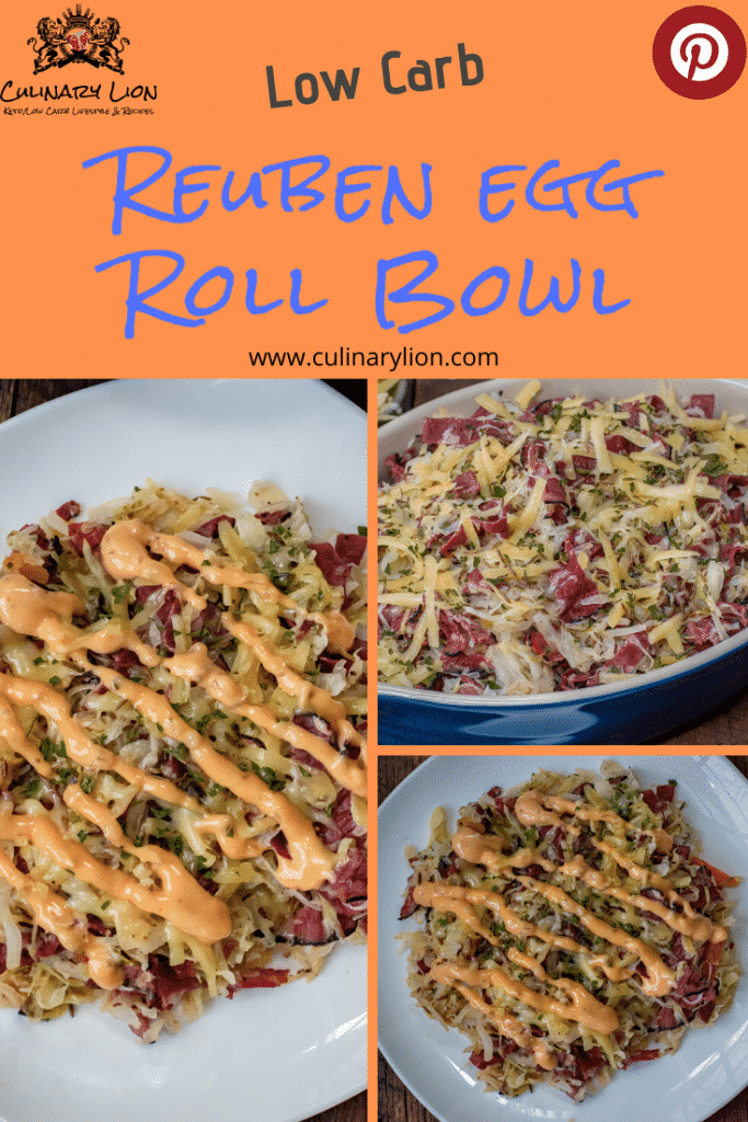 Low carb rueben egg roll bowl thumbnail