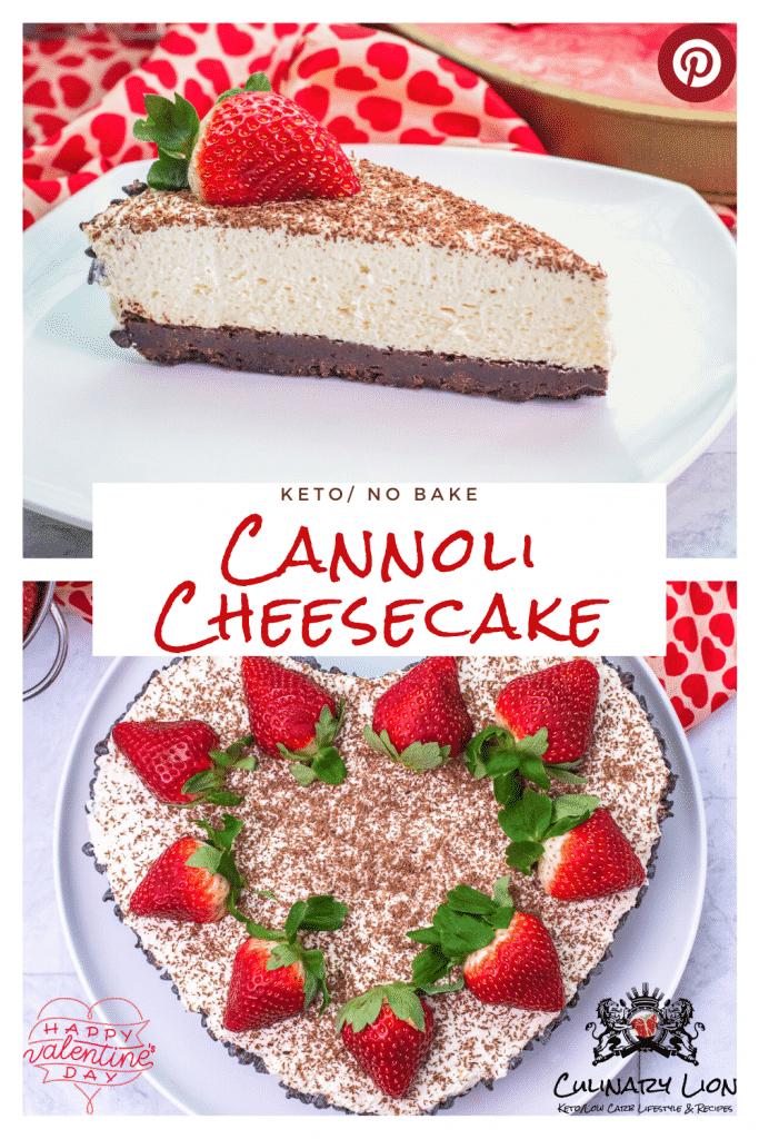 no bake keto cannoli cheesecake recipe