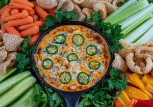 Bangin' Buffalo Chicken Dip