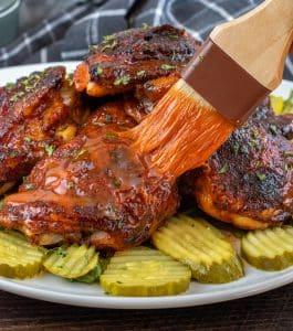 Keto Sheet Pan Nashville Hot Chicken Thighs