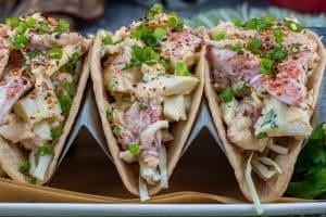 Sriracha Lobster Roll Tacos (Dirty Keto)