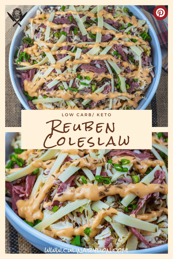 Low carb reuben coleslaw recipe