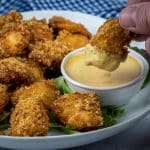 keto copycat chicken nuggets with chick fila dipping sauce