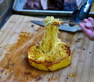 Low Carb Grilled Spaghetti Squash Rings