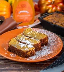 Bourbon Butter Keto Pumpkin Bread
