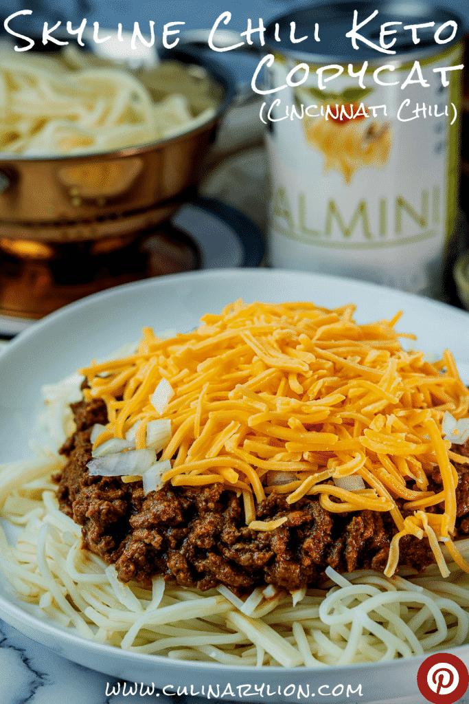 Keto Skyline Chili Copycat Cincinnati Chili Culinary Lion