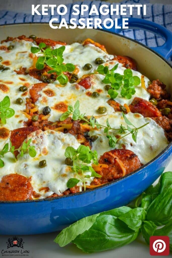 how to make keto spaghetti casserole