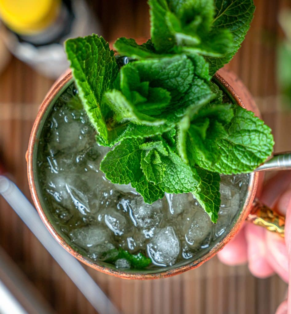 keto friendly mint julep recipe with makers mark