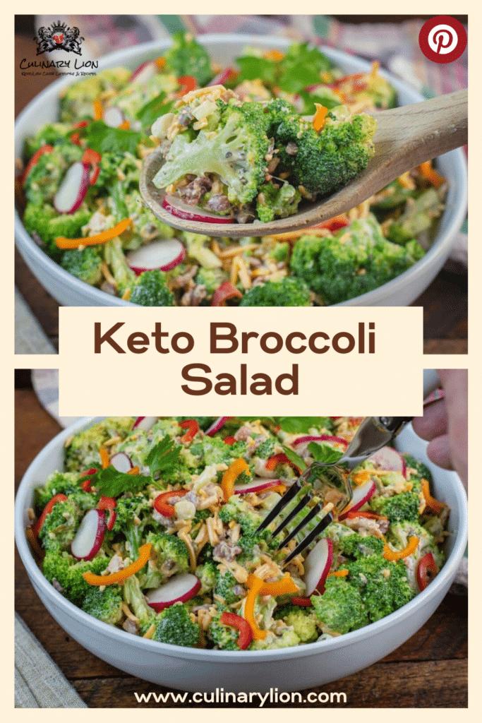 keto broccoli salad recipe